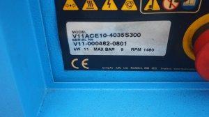 sprezarka lopatkowa hydrovane hv11 11kw 08r.2