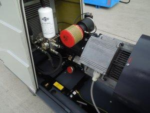 kompresor srubowy atmos albert 11kw falownik 13r.1