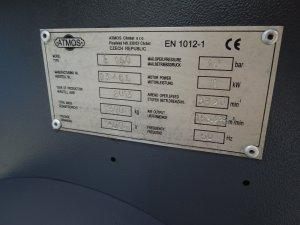 kompresor srubowy atmos albert 11kw falownik 13r.2