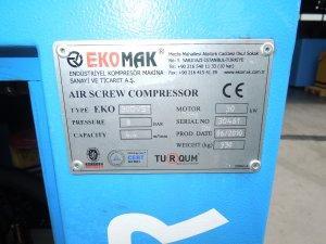 kompresor srubowy ekomak 30kw falownik 2010r.2