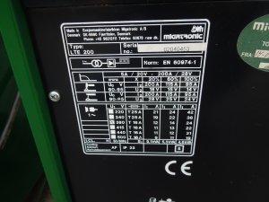 tig dcmma migatronic lte200.3