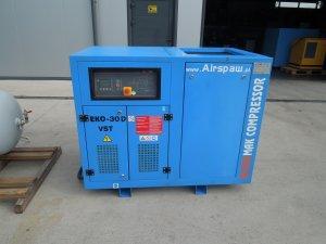 kompresor srubowy ekomak 30kw falownik 2010r